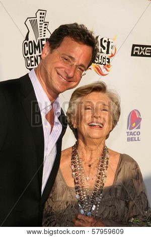 Bob Saget and Cloris Leachman  at the