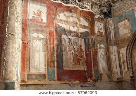 Painting In Herculaneum