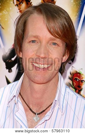 James Arnold Taylor  at the U.S. Premiere of 'Star Wars The Clone Wars'. Egyptian Theatre, Hollywood, CA. 08-10-08