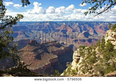 Grand Canyon farsight on a sunny day