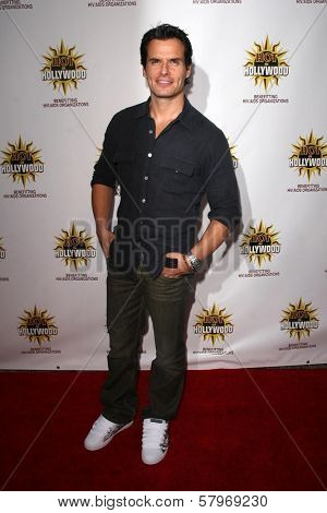 Antonio Sabato Jr.  at the Hot In Hollywood Charity Event to benefit the AIDS Healthcare Foundation and Real Medicine. Avalon, Hollywood, CA. 08-16-08