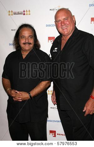 Ron Jeremy and Dennis Hoff  at a Private Premiere Party for TLC's 'Who Are You Wearing'. Stork, Hollywood, CA. 08-22-08