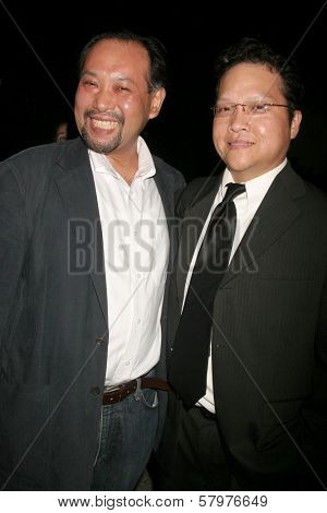 Tomohiro Hayashi and Edwin Santos  at the 'Ten Nights Of Dreams' Afterparty Hosted By Cinema Epoch. Kyoto Grand Hotel and Gardens, Los Angeles, CA. 08-22-08