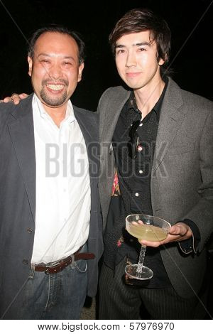 Tomohiro Hayashi and Andy Seri  at the 'Ten Nights Of Dreams' Afterparty Hosted By Cinema Epoch. Kyoto Grand Hotel and Gardens, Los Angeles, CA. 08-22-08
