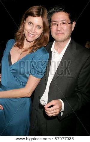 Silvia Suvadova and Gregory Hatanaka  at the 'Ten Nights Of Dreams' Afterparty Hosted By Cinema Epoch. Kyoto Grand Hotel and Gardens, Los Angeles, CA. 08-22-08