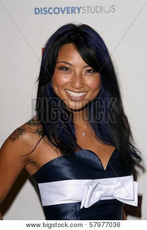 Jeannie Mai  at a Private Premiere Party for TLC's 'Who Are You Wearing'. Stork, Hollywood, CA. 08-22-08