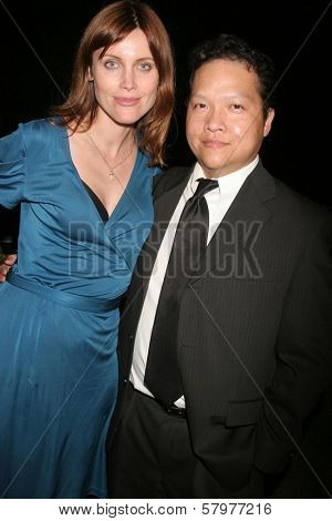 Silvia Suvadova and Edwin Santos  at the 'Ten Nights Of Dreams' Afterparty Hosted By Cinema Epoch. Kyoto Grand Hotel and Gardens, Los Angeles, CA. 08-22-08