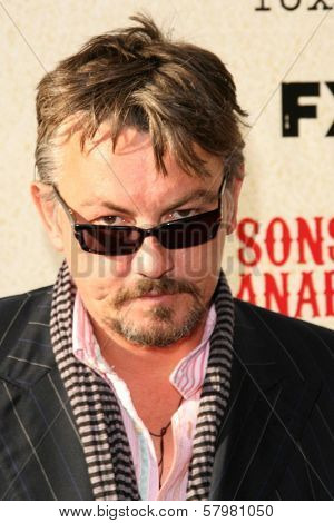 Tommy Flanagan at the Premiere Screening of 'Sons of Anarchy'. Paramount Theater, Hollywood, CA. 08-24-08