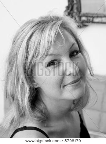 Smiling Female Portrait