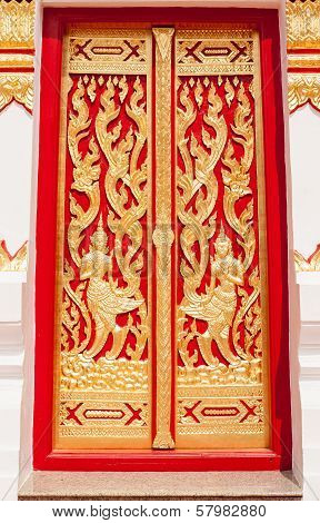 Beautiful Temple Door
