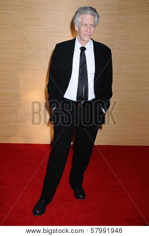 David Cronenberg  at the Opening Night of the LA Opera 2008-09 Season. Dorothy Chandler Pavilion, Los Angeles CA. 09-06-08
