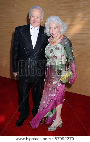 Buzz Aldrin and wife Lois  at the Opening Night of the LA Opera 2008-09 Season. Dorothy Chandler Pavilion, Los Angeles CA. 09-06-08