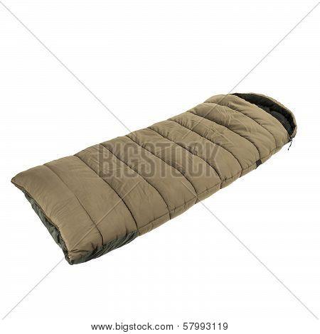 Sleeping bag isolated