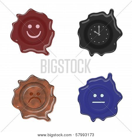 Wax Seal Set Whit Face
