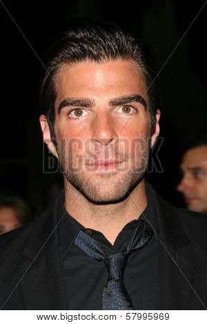 Zachary Quinto  at 'Heroes Countdown to the Premiere' Party. Edison Lounge Downtown, Los Angeles, CA. 09-07-08