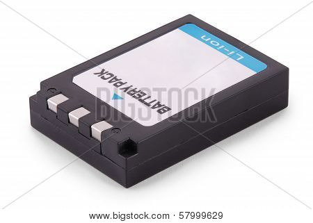 Black Lithium-ion Battery Pack (clipping Path)