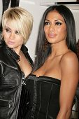 Kimberly Wyatt and Nicole Scherzinger   at the Launch of the Pusscat Dolls Lingerie '...Shhh'. Bebe,