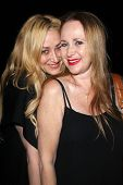 Jennifer Blanc, Jenise Blanc at the wrap party for the upcoming