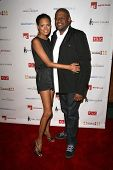 Keisha Whitaker and Forest Whitaker  at a Private Premiere Party for TLC's 'Who Are You Wearing'. St