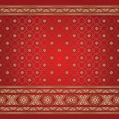 image of sari  - Indian ornamental background pattern - JPG