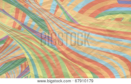 Abstract Background With Texture Of Crumpled Paper