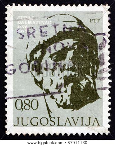 Postage Stamp Yugoslavia 1973 Juraj Dalmatinac, Sculptor