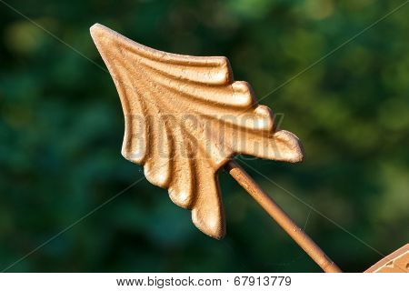 Arrow of a sundial