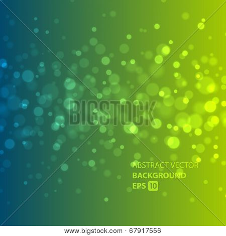 Abstract light vector background. Sparkles design.