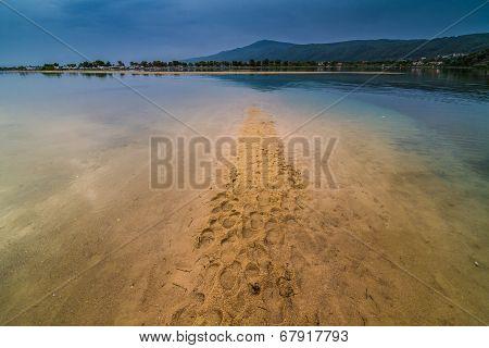 Greece Lagoon Beach