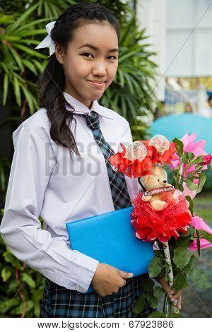 Thai Girl Student