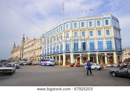 Hotel Telegrafo In Centric Havana Street