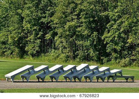 Bench Conga Line