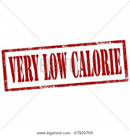 Very Low Calorie-stamp