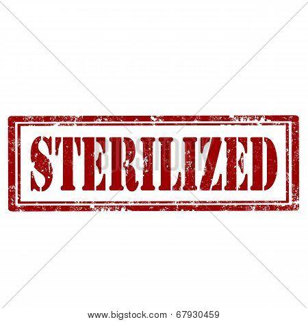 Sterilized-stamp