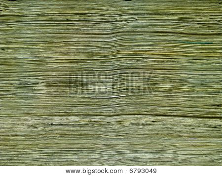 Stack Of Paper United States Currency Background