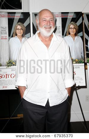 EAST HAMPTON, NEW YORK-JULY 6: Director Rob Reiner attends the premiere of