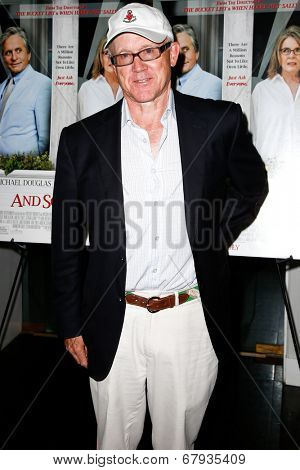 EAST HAMPTON, NEW YORK-JULY 6: New York Jets owner Woody Johnson attends the premiere of