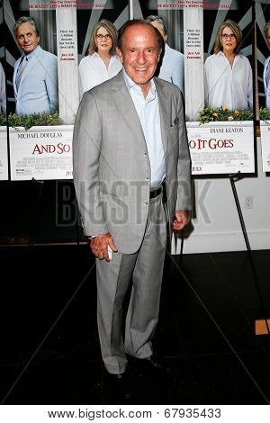 EAST HAMPTON, NEW YORK-JULY 6: Media proprietor Mort Zuckerman attends the premiere of