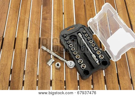 Set Of Socket Wrench