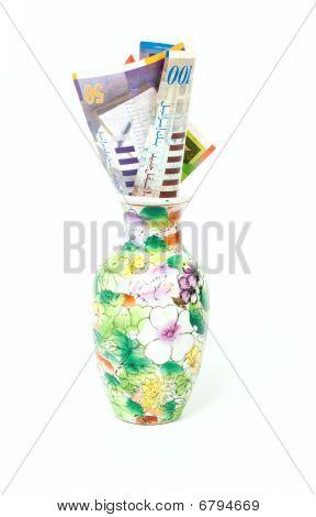 Sheqel In Vase