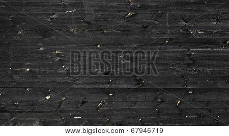 Wood Black Texture