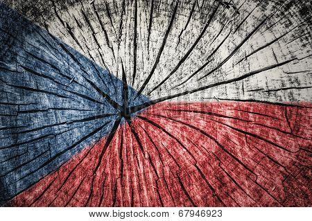 Flag Of Cheque republic