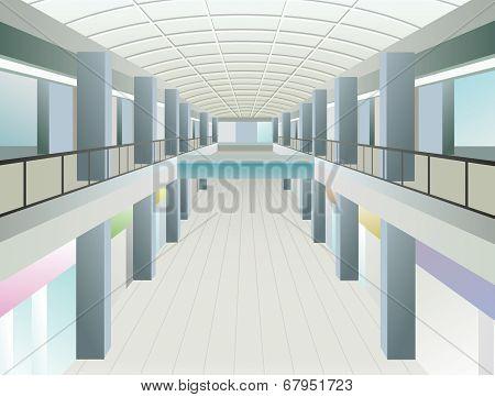 Windows In Trade Center