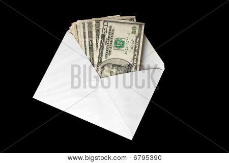 Banknotes In Envelope
