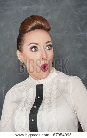 Surprised Teacher