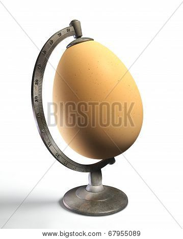 Egg Globe Conceptual Image For Life