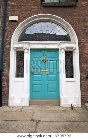 Blue Geen Classic Door