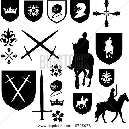 Old Style Elizabethan Icons