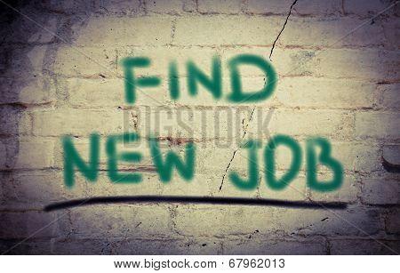 Find New Job Concept