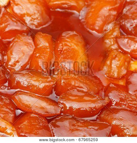 Apple Pie Tarte Tatin Close Up